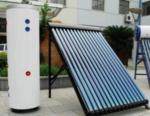 Split type solar water heating system