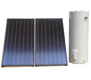 Split type solar water heating