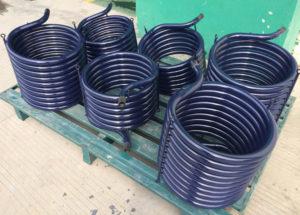 Enamel coil