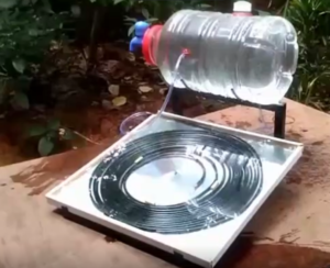 How to build a solar water heater | ESCOO