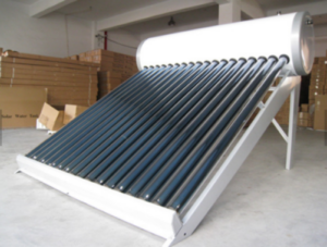 customized porcelain enamel solar water heater