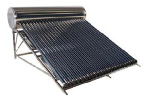 customized solar powered water heater