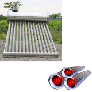 Stainless steel low pressure solar water heater