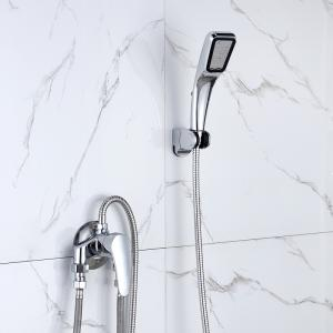 Adjustable temperature shower mixer