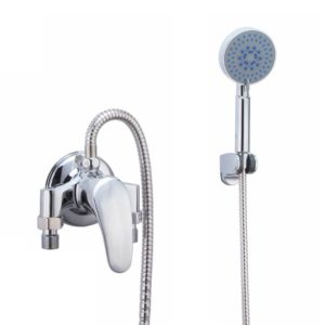 Simple adjustable temperature shower mixer