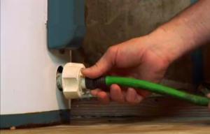 drain a solar water heater