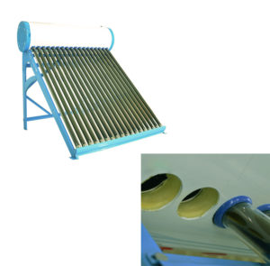 glass tubes solar water heater