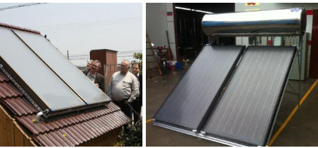 cost of solar water heater