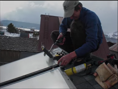 build passive solar water heater