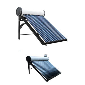 Pressure and non-pressure solar water heaters science project