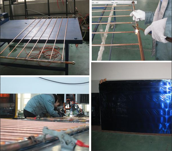 solar heater flat