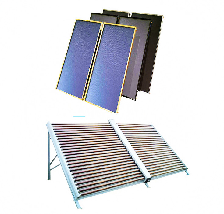 solar thermal colector rooftop