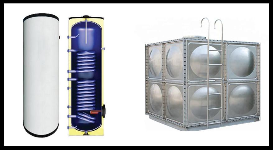 hot water storage boiler